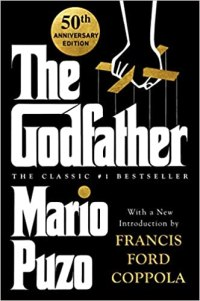 The Godfather by Mario Puzo Book Cover