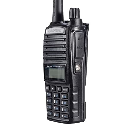 BaoFeng UV-82X (USA Warranty) Dual-Band 136-174/220-260 MHz FM 2 Meter / 1.25 Meter Ham Two-way Radio, Transceiver, HT - With Battery, Earpiece, Antenna, Charger, and More