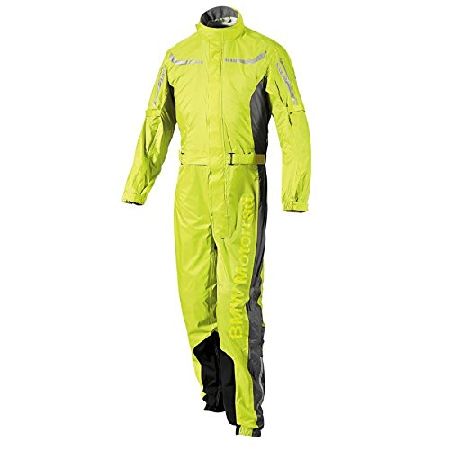BMW Genuine Motorcycle Unisex ProRain Rain Overall Riding Unisex Suit Yellow L