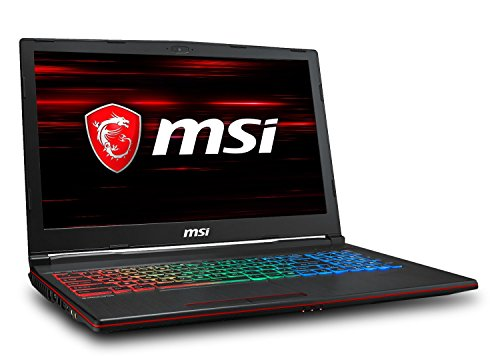 MSI GP63 Leopard-013 Performance Gaming Laptop
