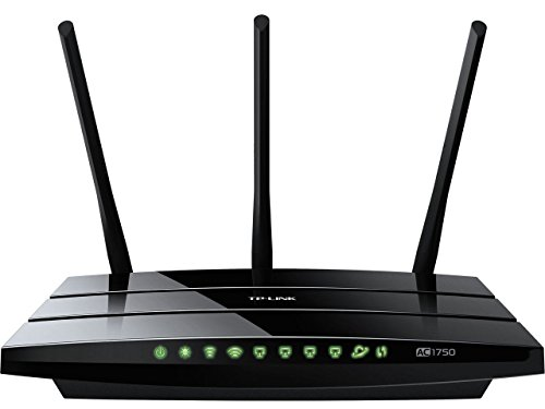 TP Link Archer C7 Wireless Dual Band Gigabit Router (AC1750)  Image of 41kCYj5mweL