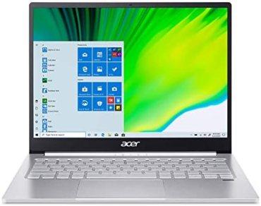 Acer Swift 3 13″ Full HD IPS Display Ultra Thin and Light Notebook (Intel i5 – 11th Gen/8 GB RAM/512GB SSD/Win10/Intel Iris Xe Graphics/Microsoft Office 2019/Pure Silver), SF313-53