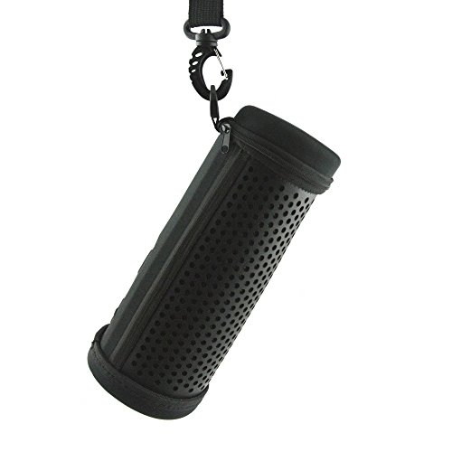 PU Leather Case for Logitech Ultimate Ears UE MegaBOOM 360 Degree Bluetooth Speaker Travel Bag Pouch
