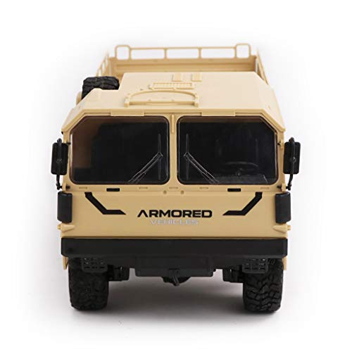 JJRC Q64 1/16 2.4G 6WD Rc Car Military Truck Off-road Rock Crawler RTR Toy 6 Wheels Racing Toys for Children Kids Gifts
