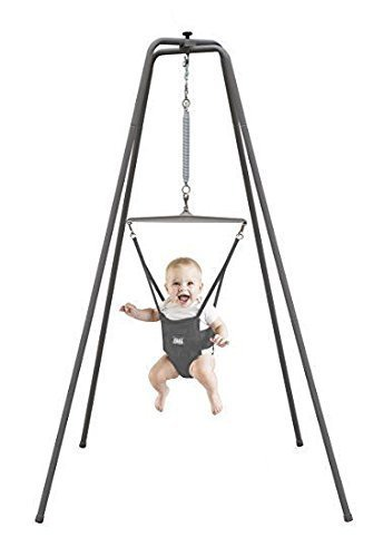 Jolly Jumper - The Original Baby Exerciser with Super Stand for Active Babies that Love to Jump and Have Fun