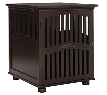 Dog Crates for Medium or Large Dogs for Indoor Use Modern End Table Espresso,Dog kennels