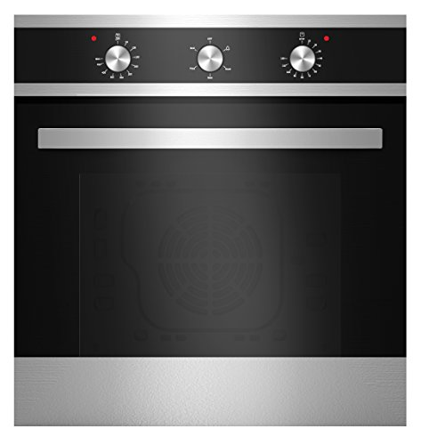 Empava 24' Tempered Glass Electric Built-In Single Wall Oven Black|Silver EMPV-24WOA16