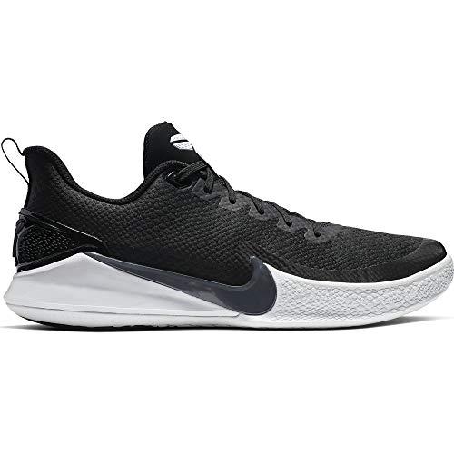 Nike Men's Kobe Mamba Rage Basketball Shoe (10 M US, Black/Anthracite/White)