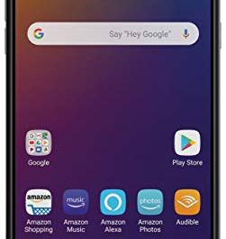 LG Stylo 5 with Alexa Push-to-Talk – Unlocked – 32 GB – Silvery White (US Warranty)