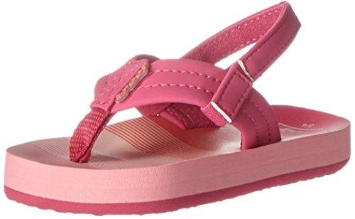 Reef Girls' Little Ahi Sandal, Pink