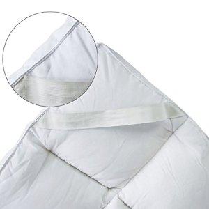 Bedecor Microfibra Almohadilla de colchón