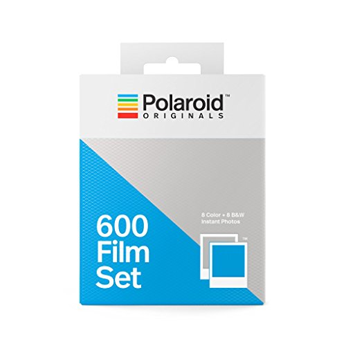 Polaroid Originals 4844 600 Film Set (1 Color- 1 B&W), White