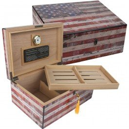 Quality Importers Trading HUM-HS-OG Old Glory Weathered American Flag