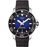 Tissot Men's Seastar 1000 Powermatic 80 - T1204071704100 Black One Size