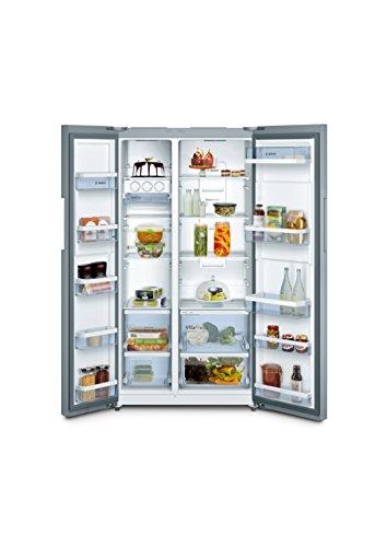 41knNf2qbUL Bosch 661 L Frost Free Side-by-Side Refrigerator(KAN92VI35I, Stainless Steel, Inverter Compressor)