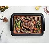 Gotham Steel Smokeless Electric Grill XL, Deluxe Nonstick As Seen on TV, Nonstick, 99 Value!