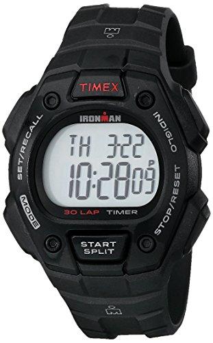 Timex Men's T5K822 Ironman Classic 30 Black Resin Strap Watch