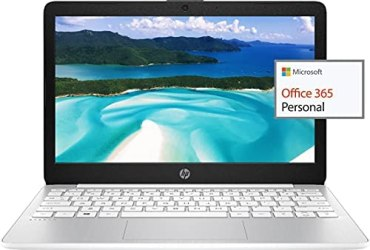 2021 HP 11.6″ HD Laptop for Student and Home use, Intel Celeron N4020, 4GB RAM, 64GB eMMC, Webcam, WiFi, HDMI, 1 Year Office 365, (Google Classroom or Zoom Compatible), w/64GB SD Card, GM Accessories