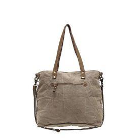 Myra-Bags-Life-Always-Upcycled-Canvas-Shoulder-Bag-S-0948-Tan-Khaki-Brown-OneSize