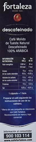 Caf-FORTALEZA-Cpsulas-de-Caf-Descafeinado-Compatibles-con-Nespresso-Pack-1-x-10-Total-10-cpsulas