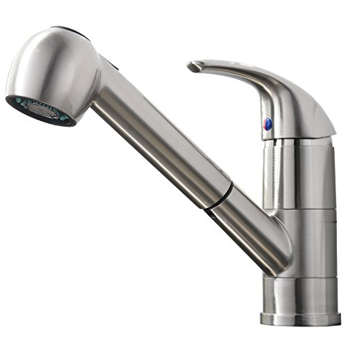 Commercial Style Kitchen Faucet Stainless Single Lever