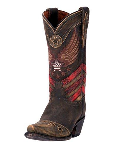 cfab5b3dee0 Dan Post Women's Distressed N'dependence Cowgirl Boot Snip Toe ...