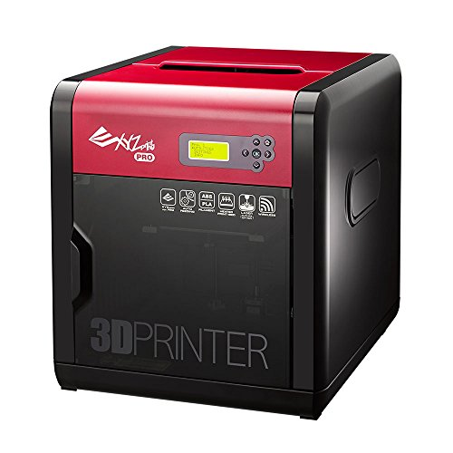 "[Open Filament] da Vinci 1.0 Pro. Wireless 3D Printer/Upgradable Laser Engraver - 7.8"" x 7.8"" x 7.8"" Built Volume (Fully Enclosed Design - ABS/PLA/ Tough PLA/PETG/ HIPS/Wood/Antibacterial PLA)"
