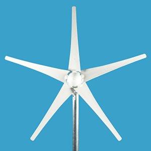 ALEKO WG450 450 Watt 12 Volt 5-Blade Residential Wind Turbine Generator Kit with Charge Controller