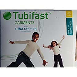 TUBIFAST VESTS FULL SLEEVE 2-5 YEARS (NEW) 2-WAY STREATCH TECHNOLOGY GARMENT - 2-5 YRS by TUBIFAST