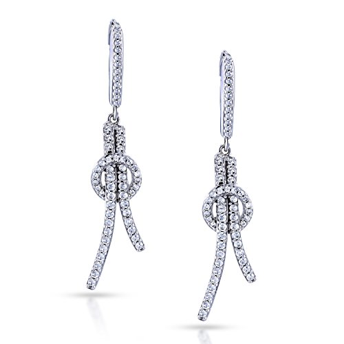 41lHoIcGA8L Fashion diamond earrings Hoop knot design Satisfaction Guaranteed -- Easy Returns or Exchanges Policy Within 30 Days