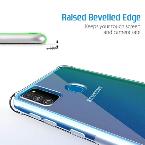 NTV Samsung Galaxy M30S (Transparent) Protective + Anti Shockproof Case 3