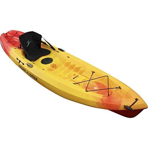 Ocean Kayak Scrambler 11 Sit-On-Top Recreational Kayak, Sunrise