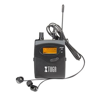 Xtuga RW2080 in Ear Monitor System 2 Channel 2/4/6/8/10 Bodypack Monitoring with in Earphone Wireless SR2050 Type! (Only one bodypack)