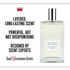Woodsy Scent with Notes of Lemon Peel