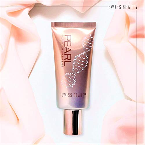 SWISS BEAUTY B W All Black Pearl Illuminator Liquid Makeup Base (Golden Pink)