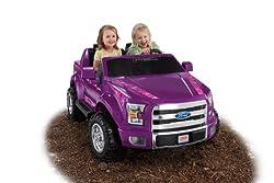 Fisher-Price Power Wheels Ford F-150 - Purple Camo