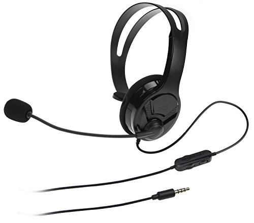 AmazonBasics Chat Headset for PlayStation 4 (Officially Licensed) - Black