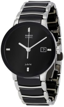 Rado Centrix Jubile Black Dial Stainless Steel Automatic Men's Watch R30941702