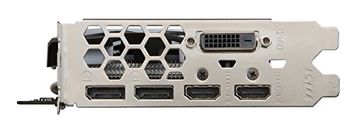 MSI Radeon RX 580 Armor OC 8GB VR Ready FinFET DirectX 12 Gaming Graphics Card 11