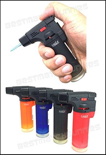 Eagle Jet Torch Gun Lighter Adjustable Flame Windproof Butane Refillable