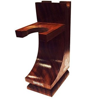 Orpheus Wooden Shave Stand for Razor and Brush