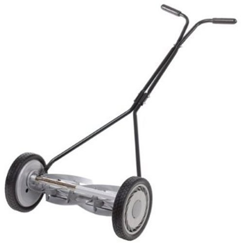 Great States 415-16 16-Inch Standard Full 5. Feature Push Reel Lawn Mower With T-Style Handle And Heat Treated Blades