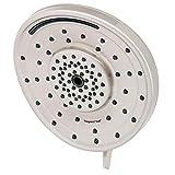 Oxygenics Silver Standard 53568 Soak Brushed Nickel Rain Shower Head