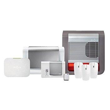 Exemple de pack Diagral alarme connectée