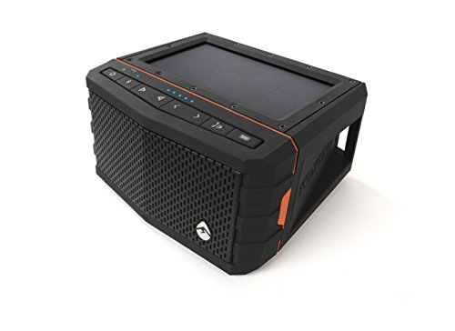 Ecoxgear Sol Jam Solar-powered Waterproof Speaker (black)