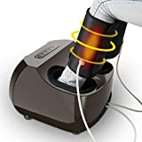 Shiatsu Foot & Leg Massager Machine - Tespo Electric Deep-Kneading Massage with Heat, Foot & Leg Air Compression, Relieve Foot Pain from Plantar Fasciitis, Improve Blood Circulation