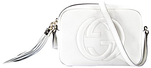 """41lyd%2B2P5fL zip pull 23.5"""" Max strap drop Measurements: 8''x 2.50'' x 6'' (lwh). Approx. strap drop 23.5"""" Includes authenticity cards and Gucci dust bag."""
