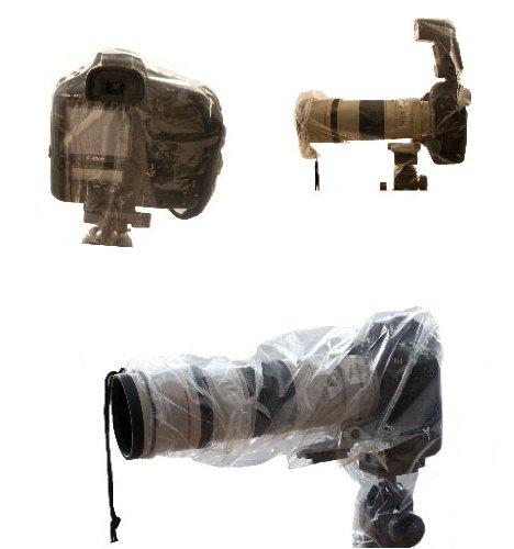 Telo protettivo anti pioggia utile anche per proteggere la fotocamera dalla condensa - Nikon D7000