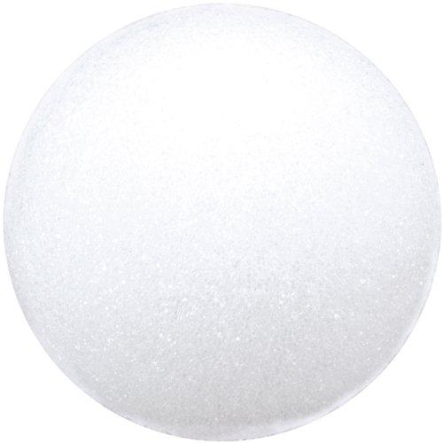 Floracraft BA4/3SHT Styrofoam Balls Craft Supplies, 4-Inch, White, 3-Pack