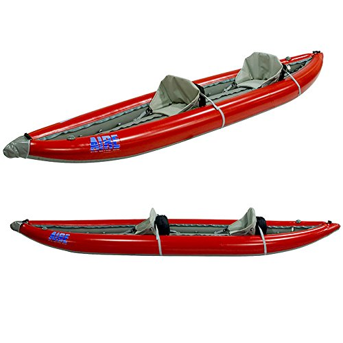 AIRE Super Lynx Inflatable Kayak-Red